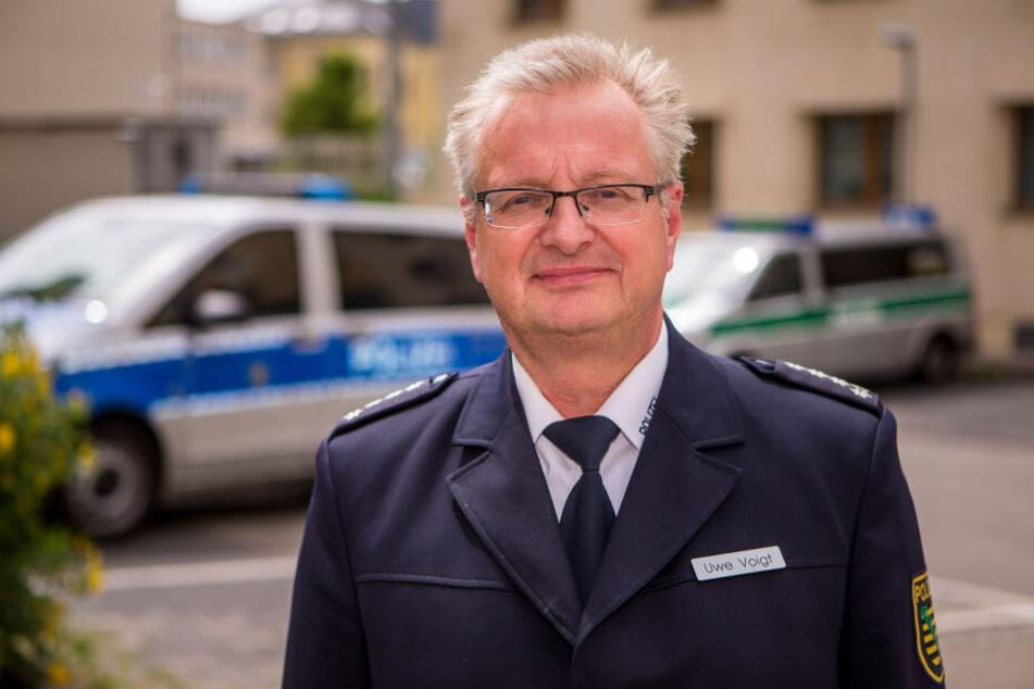 """War zwölf Jahre das """"Gesicht"""" der Leipziger Polizei und wurde nun als mutmaßliches Bauernopfer aussortiert: Uwe Voigt."""