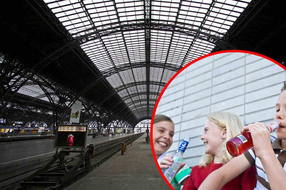 Was trieben die Kinder nachts allein im Leipziger Hauptbahnhof?