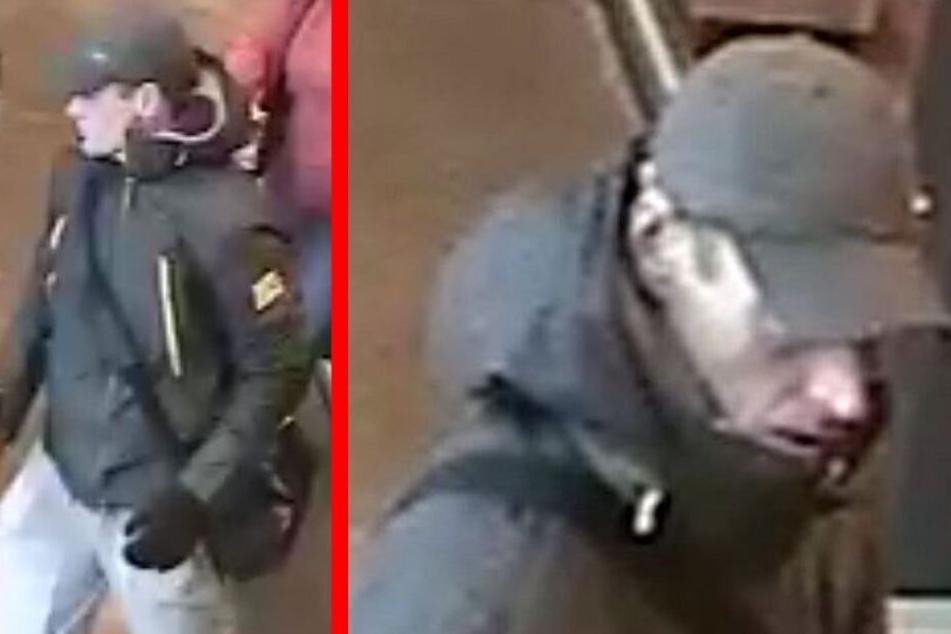 Er bedrohte eine Kassiererin mit einer Pistole: Wer kennt diesen Räuber?