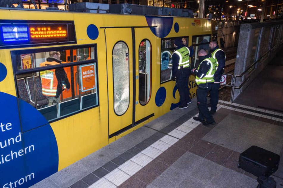 Im November war eine Bahn der Linie 1 betroffen.