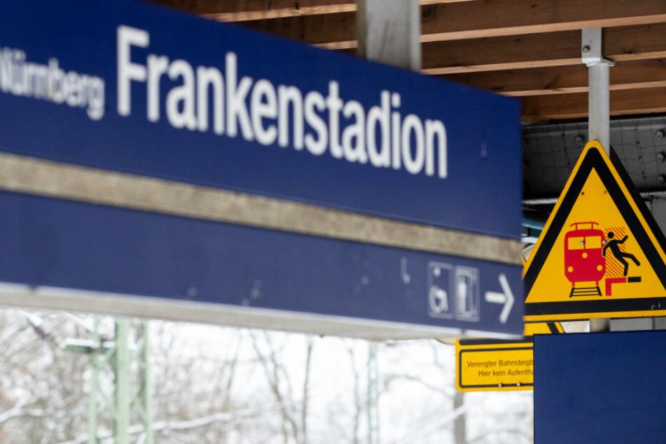 Am S-Bahnhof Frankenstadion hat sich ein schrecklicher Zwischenfall ereignet.