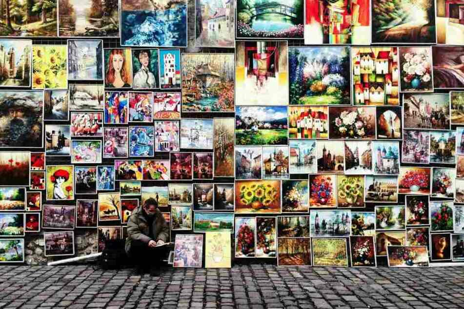 James Stunt (39) behauptet seine Kunstwerke seien alle echt.