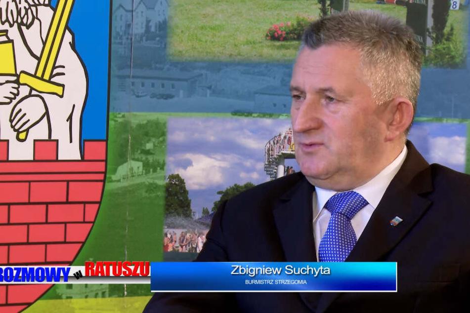 Striegaus Bürgermeister Zbigniew Suchyta im Interview,