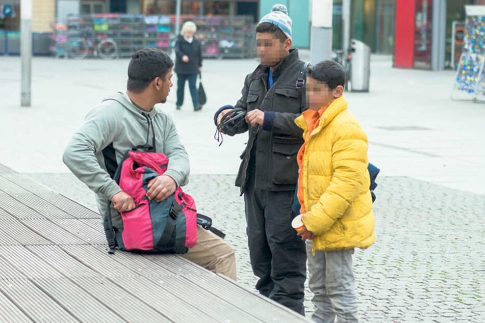 Seit einem Jahr dürfen Kinder in Dresden nicht mehr betteln.