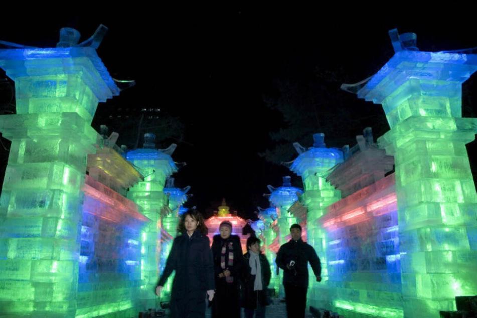 Aktuell ist der OB in China unterwegs, besucht unter anderem das Schnee- und Eisfestival.