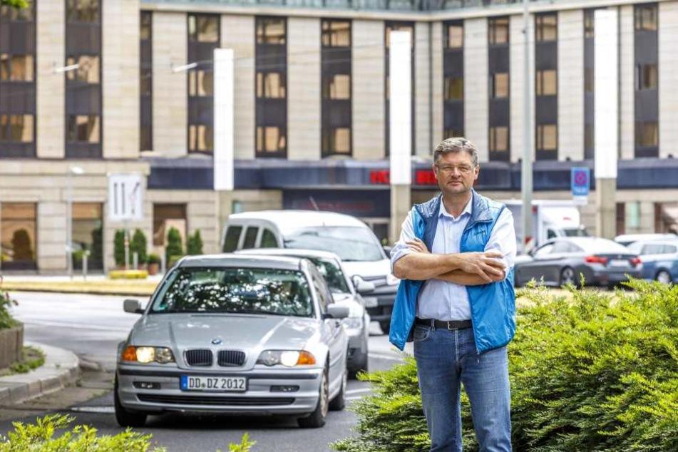 """FDP-Chef Holger Zastrow (49) hat die """"Aktuelle Stunde"""" beantragt."""