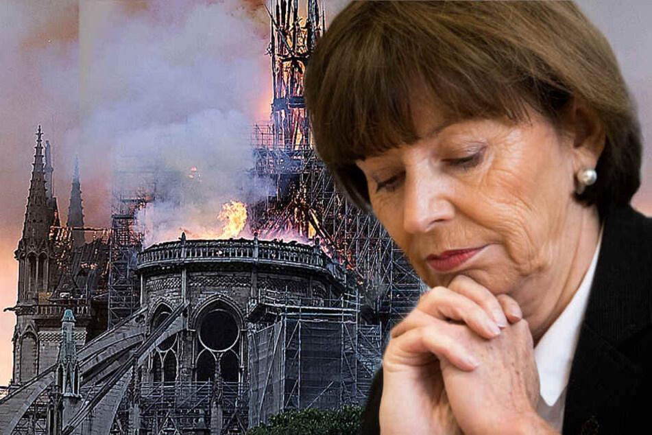 """""""Ihr seid nicht allein"""": Reker spricht nach Feuer in Notre-Dame ihr Mitgefühl aus"""