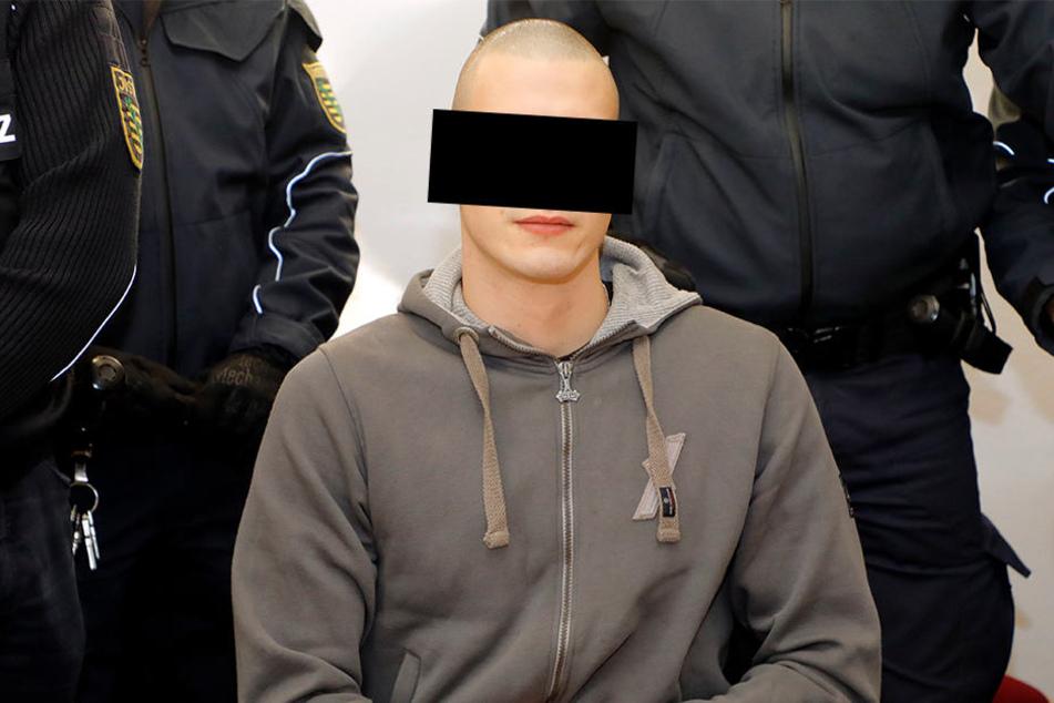 Stephan H. vor dem Landgericht Chemnitz.