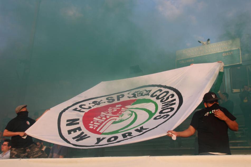 Gegen New York Cosmos verlor St. Pauli zuvor, die US-Fans haben sich aber gefreut, ihre Mannschaft endlich live zu sehen.