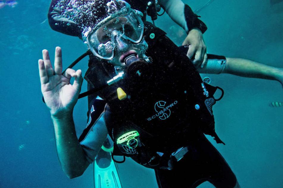 Für Tauchanfänger ist das Mittelmeer besonders gut geeignet.