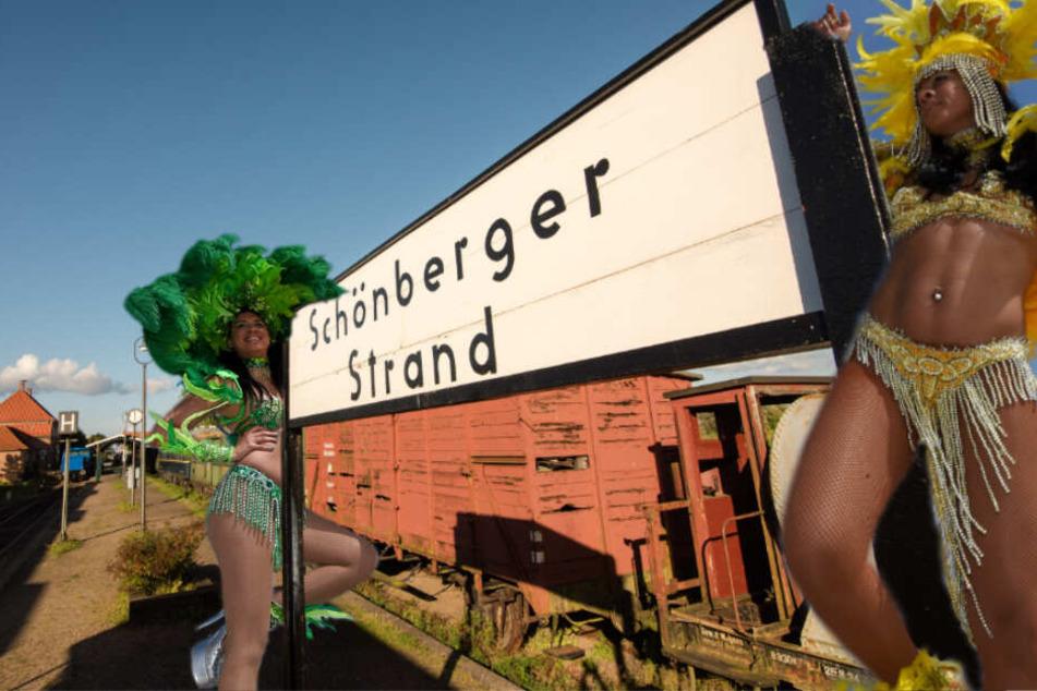 Mit der Bahn von Kiel direkt an den Strand?