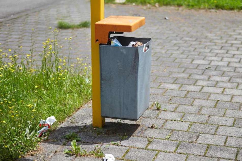 Vor mehr als einem Jahr wurde ein Säugling tot in einem Mülleimer in Schleswig-Holstein gefunden.(Symbolbild).