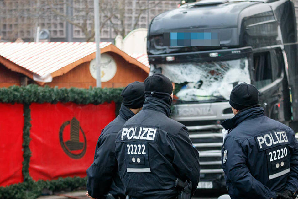 Auf dem Berliner Weihnachtsmann wurden zwölf Menschen getötet.