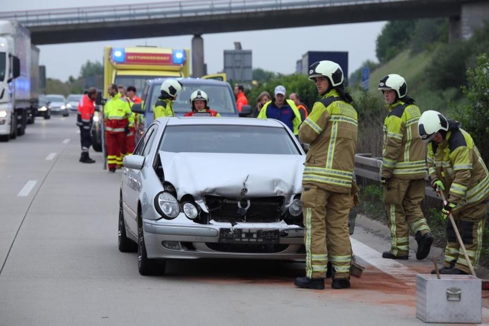Die Fahrerin wurde verletzt.
