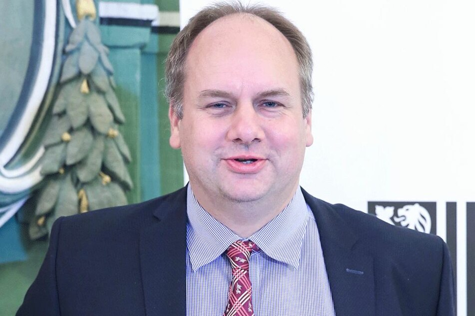 Dirk Hilbert (46, FDP), Dresdens Oberbürgermeister.