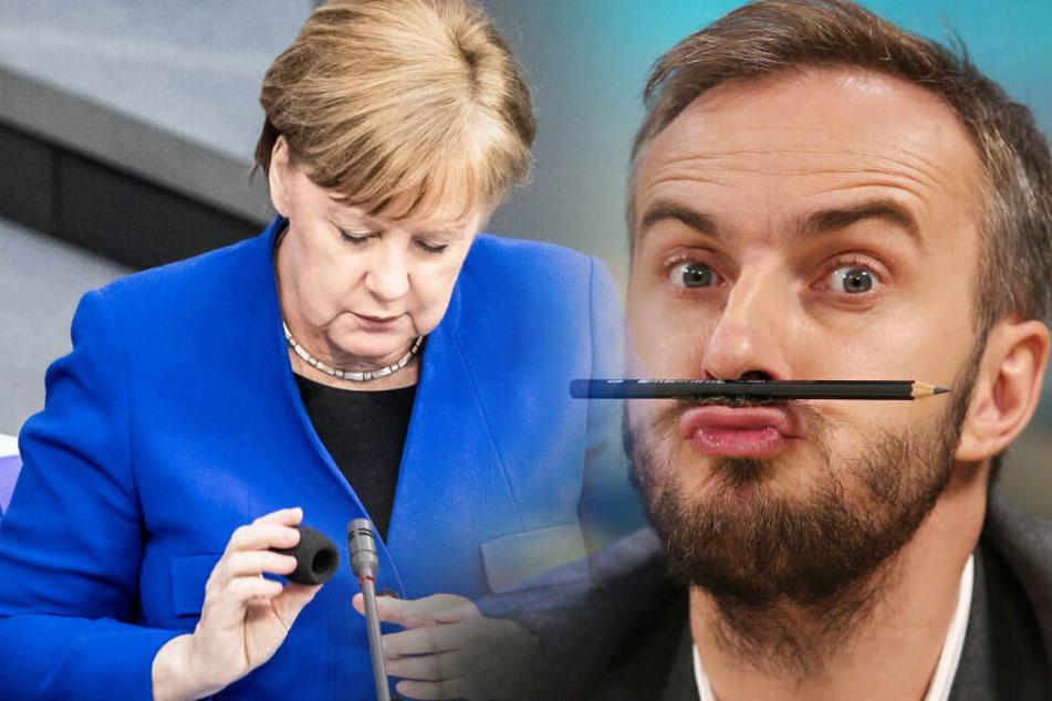 Weder Angela Merkel noch Jan Böhmermann werden vor Gericht erwartet.