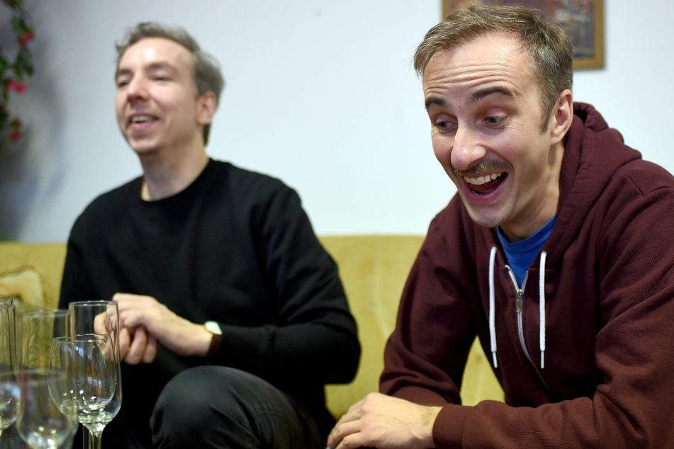Olli Schulz (47) und Jan Böhmermann (40) haben Onlyfans entdeckt. (Archibild)