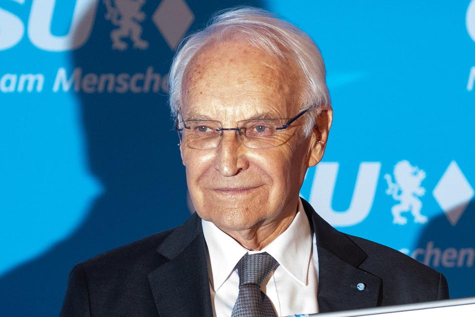 Bayerns Ex-Ministerpräsident Edmund Stoiber (80, CSU).