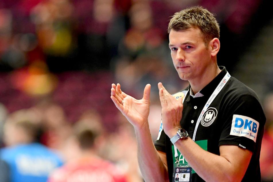 Der ehemalige deutsche Bundestrainer Christian Prokop vor einem Spiel.