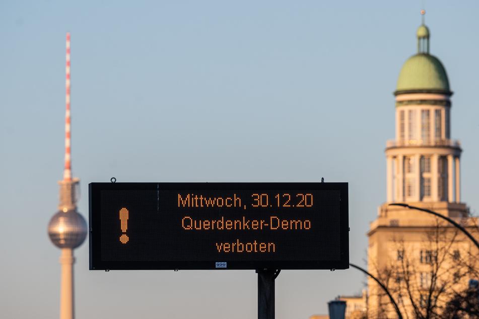 Demonstrationen bleiben an Silvester in Berlin verboten (Symbolbild).