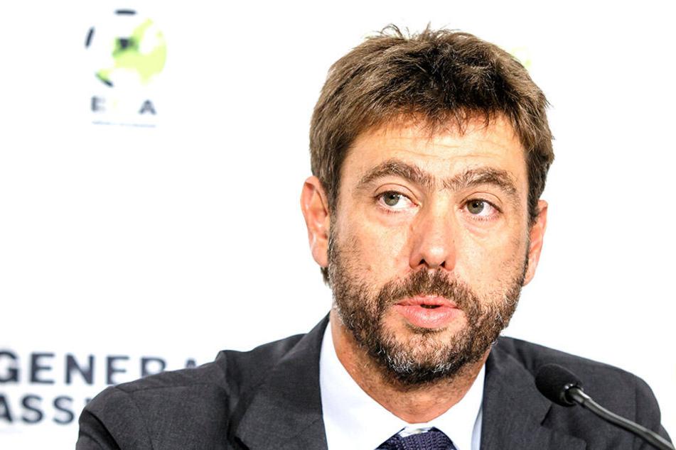 Andrea Agnelli, Vorsitzender der European Club Association (ECA).