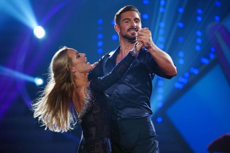 Das Tanzpaar hat es bis ins Finale der Show gedacht.