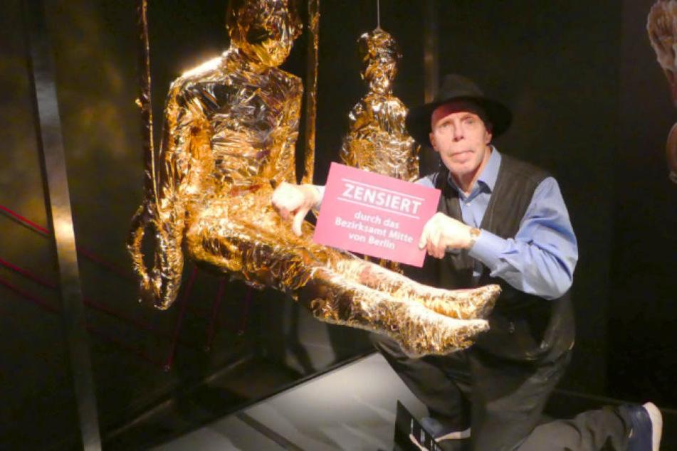 Plastinator Gunther von Hagens (73) hat kein Verständnis für die Zensur seiner Ausstellung.