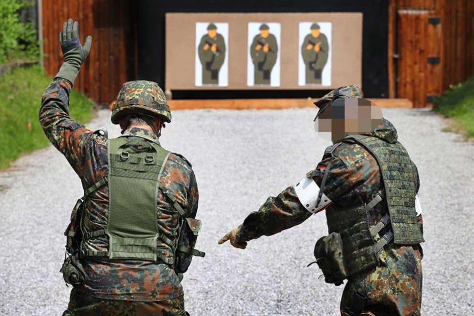 Unterfranken: Soldat stirbt bei Schießübung