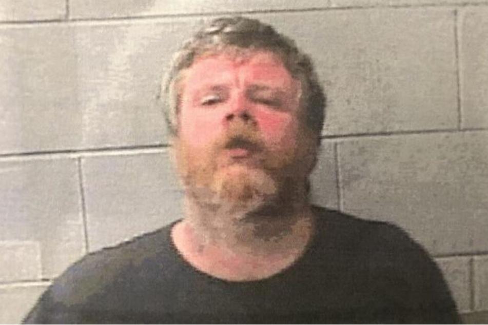 Jonathan D. Watkins (38) nach seiner Festnahme.