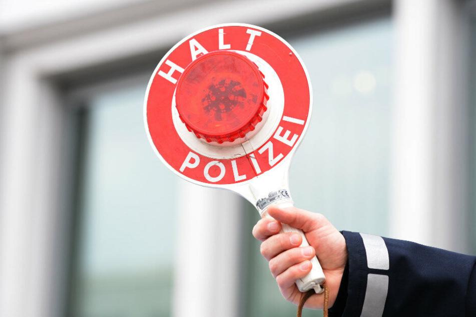 Die Polizei stoppte einen Raser, der mit 130 Stundenkilometern durch eine Baustelle fuhr. (Symbolbild)