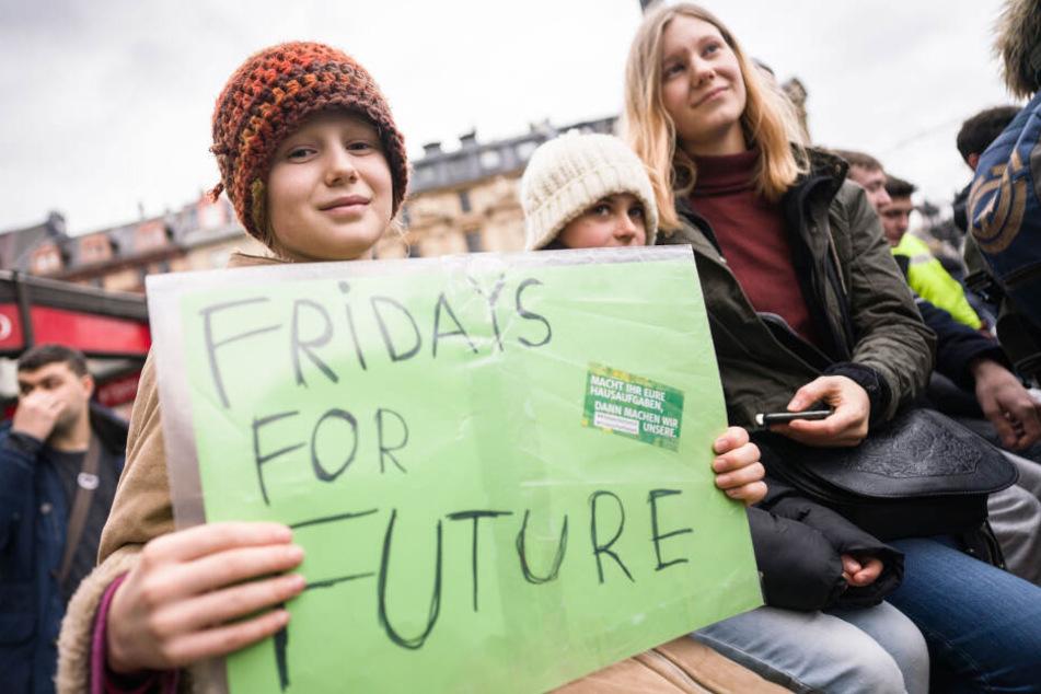"""""""Fridays for Future"""" - Über 5000 Menschen demonstrierten vergangenen Freitag für besseren Klimaschutz."""
