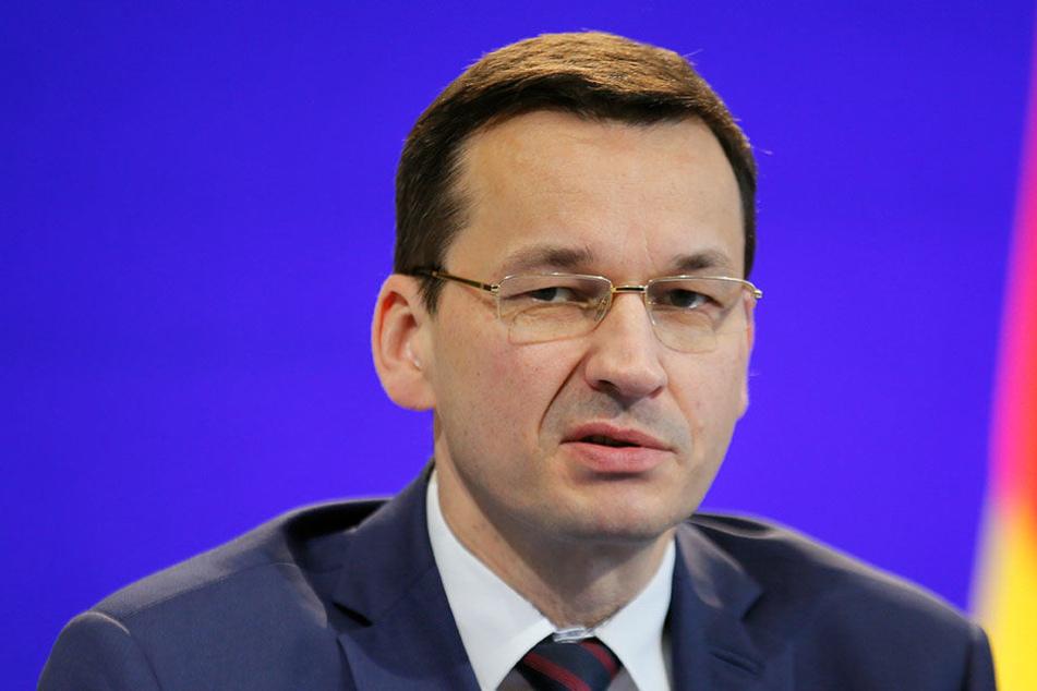 Polens Ministerpräsident Mateusz Morawiecki.
