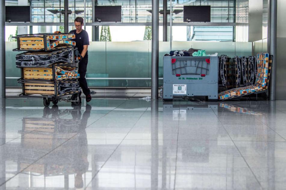 Warnstreik? Am Flughafen München drohen Beeinträchtigungen. (Symbolbild)