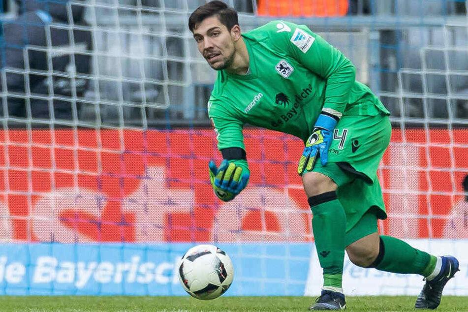 Stefan Ortega (24) spielte zuletzt drei Jahre für 1860 München, ehe er in der Relegation mit München abstieg.