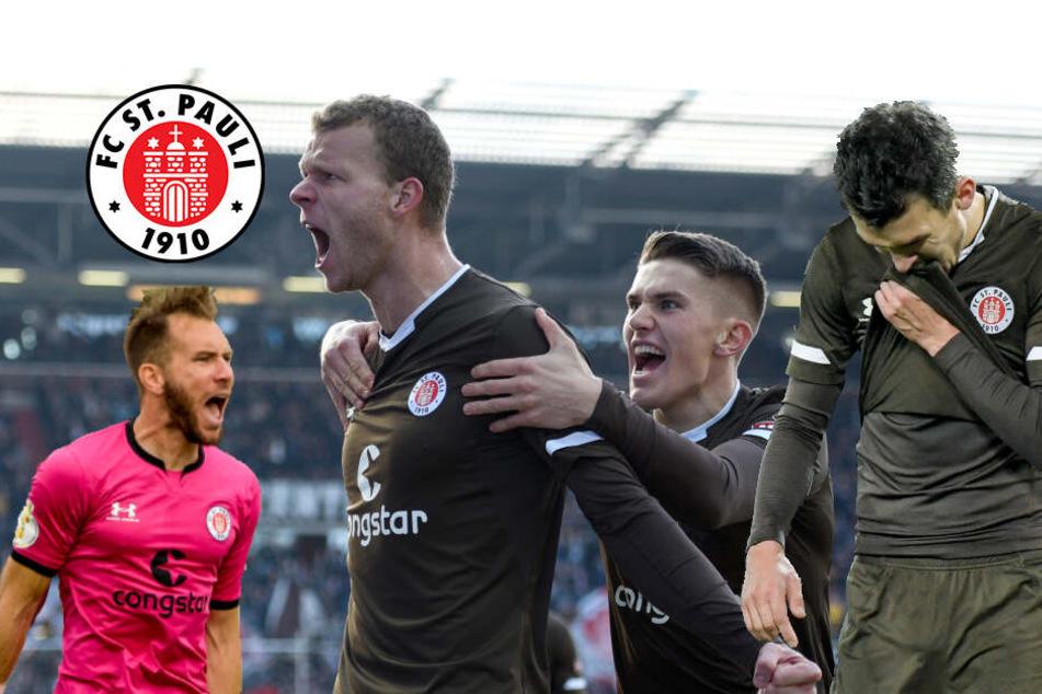 FC St. Pauli: So sieht das Winterzeugnis der Kiezkicker aus