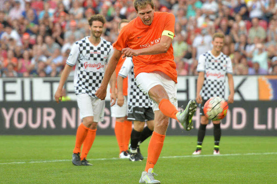 Wird Dirk Nowitzki in der BayArena die Revanche gegen Mick Schumacher gelingen?