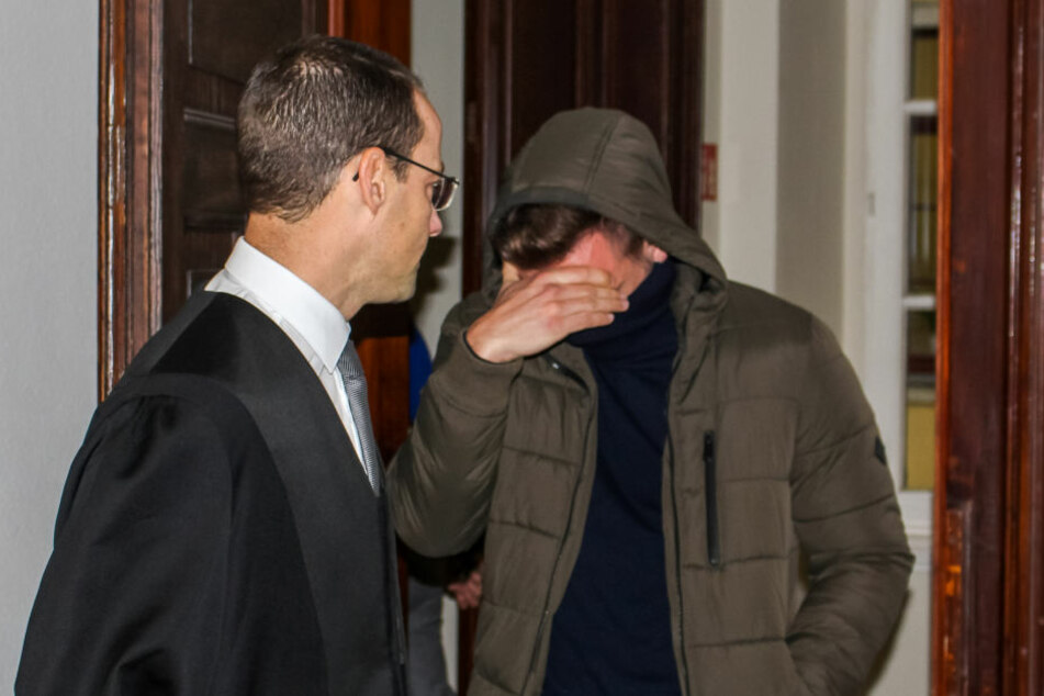 Der Angeklagte Norman N. am Montag im Gerichtssaal.