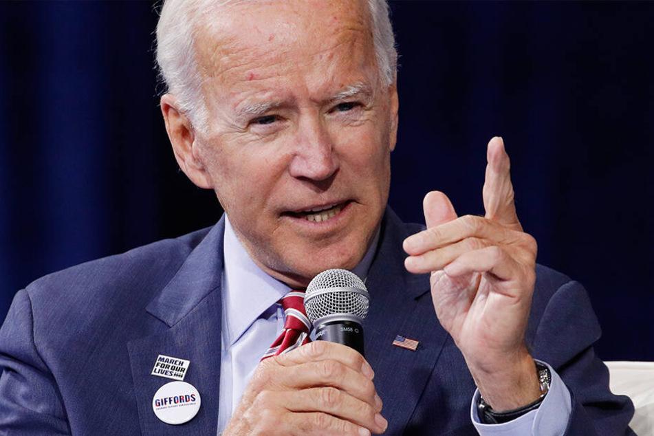 Joe Biden, demokratischer Bewerber um die Präsidentschaftskandidatur.