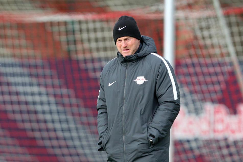 Eine enorme Geräuschkulisse muss RB-Trainer Ralph Hasenhüttl am Donnerstag in Neapel nicht fürchten.