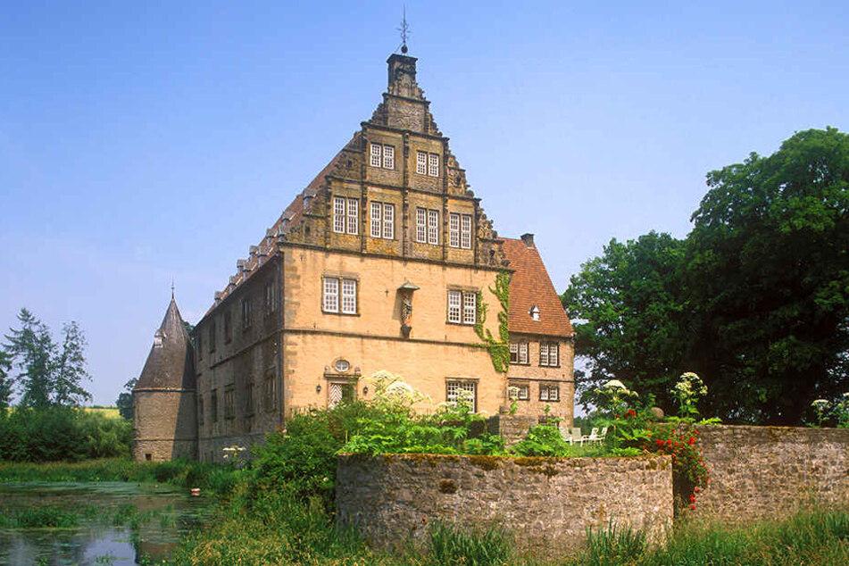 Das Schloss in Rolfzen wirkt verwunschen und märchenhaft.
