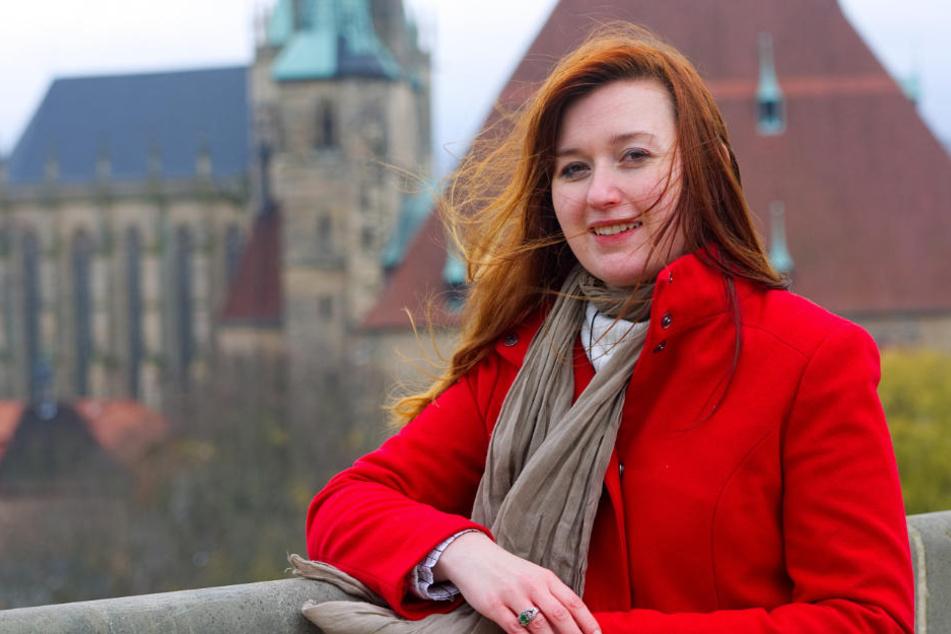 Ihrer Heimat Erfurt fühlt sich die 27-Jährige immer noch stark verbunden.