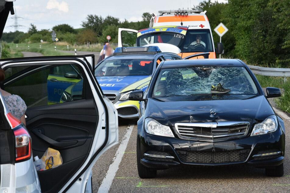 13-Jähriger lebensgefährlich verletzt: Mercedes erfasst Radfahrer