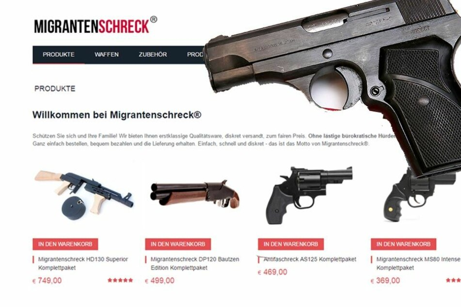 """Illegale Waffen: Bundesweit Razzien bei """"Migrantenschreck""""-Kunden"""
