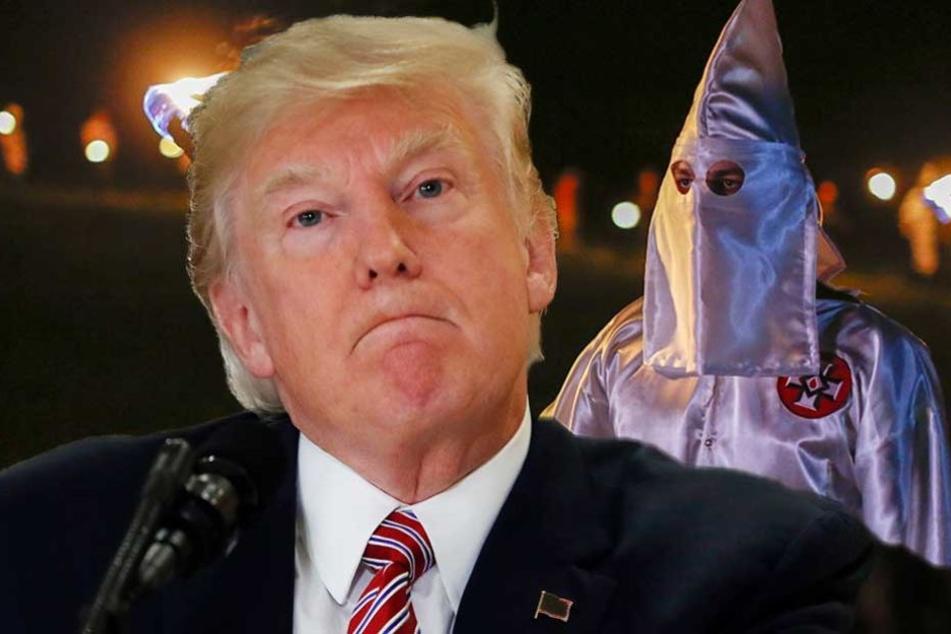 Ku-Klux-Klan bedankt sich bei Donald Trump