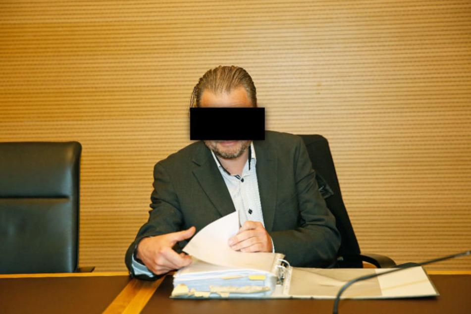Der Reichsbürger Volker S. wurde am Amtsgericht zu sechs Monaten Haft verurteilt.