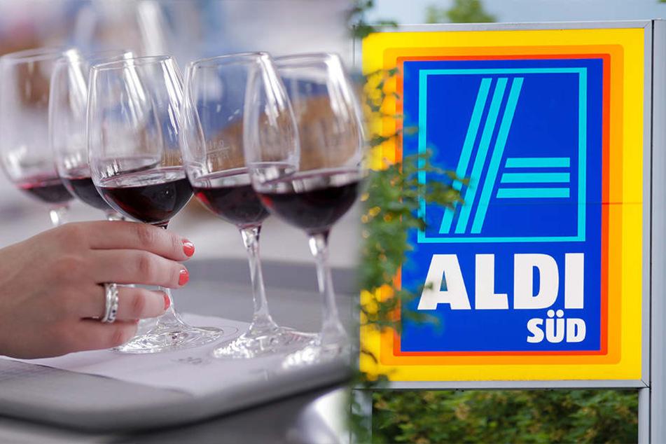 """Aldi Süd hat für den Wein """"Côtes de Provence Rosé"""" den zweiten Platz in der Kategorie """"Great Value Award 2017"""" auf der """"International Wine Challenge"""" belegt (Symbolbilder)."""