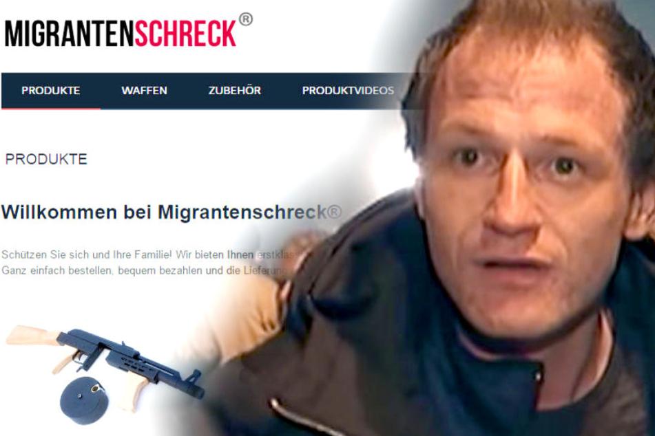 """Illegaler Waffenhandel: """"Migrantenschreck""""-Betreiber vor Gericht!"""