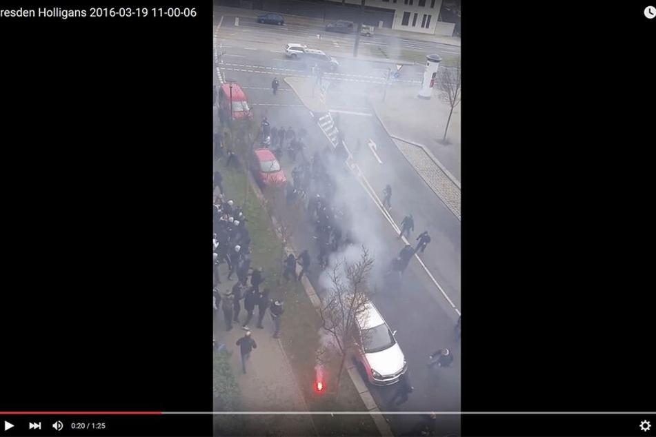 Bis zu 140 Mann lieferten sich 2016 eine Massenschlägerei in der Friedrichstadt.