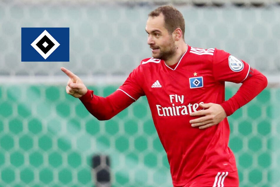 DFB-Pokal: Lasogga ballert den HSV mit Doppelpack ins Halbfinale
