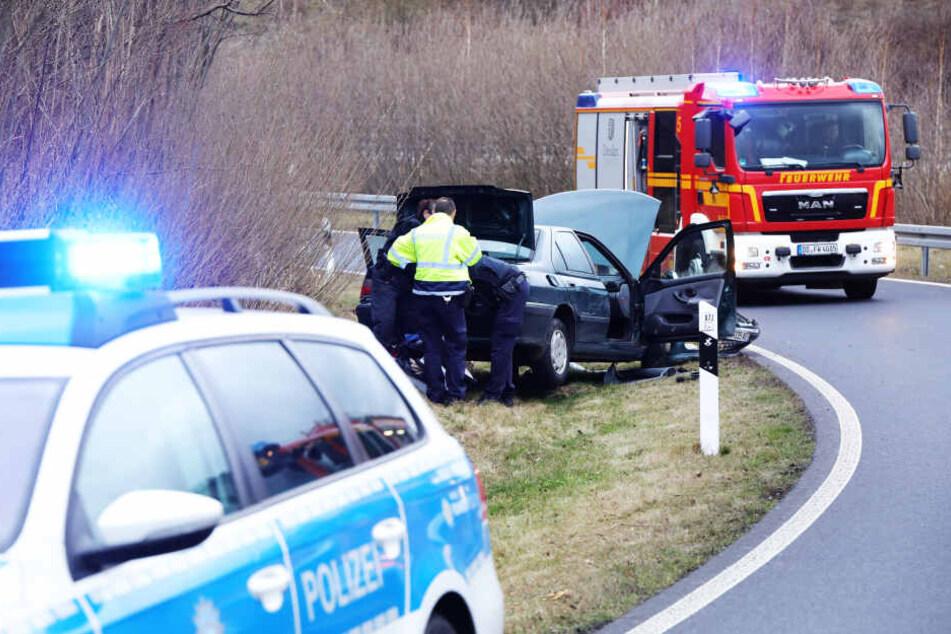 Die Anschlussstelle Dresden-Gorbitz war während der Ermittlungen gesperrt.